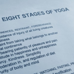 Eight stages of yoga details